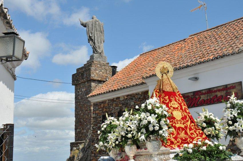 Procesión de retorno de la Virgen 2017